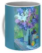 Plein Air Lilacs Coffee Mug