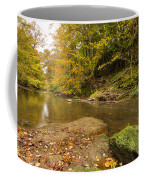Plessey Woods And The River Blyth Coffee Mug