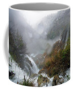 Plitvice Lakes In Winter 4 Coffee Mug