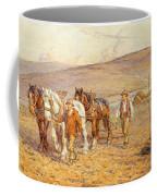 Ploughing Coffee Mug