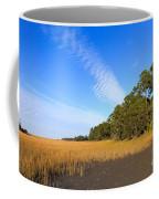 Pluff Mud And Salt Marsh At Hunting Island State Park Coffee Mug