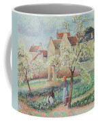 Plum Trees In Flower Coffee Mug