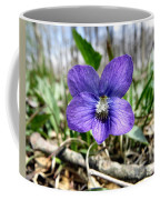 Plumb Wildflowers Coffee Mug
