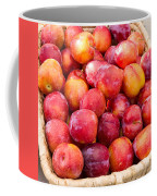 Plums In A Basket Coffee Mug
