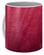 Plush Red Texture Coffee Mug