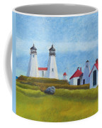 Plymouth Light Station Before 1924 Coffee Mug