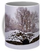 Plymouth Meeting Lime Kilns In The Snow Coffee Mug