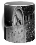 Poe's Original Grave Coffee Mug by Jennifer Ancker