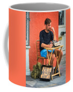 Poet For Hire - Paint Coffee Mug