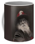Poet Walt Whitman George Collins Cox Photo 1887-2010 Coffee Mug