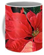 Poinsettia  Diamonds Coffee Mug