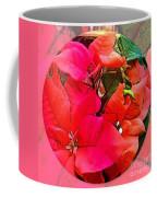 poinsettia Xmas Ball Coffee Mug