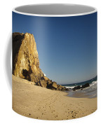 Point Dume At Zuma Beach Coffee Mug by Adam Romanowicz