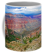 Point Imperial 8803 Feet On North Rim Of Grand Canyon National Park-arizona   Coffee Mug
