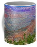 Point Imperial On North Rim Of Grand Canyon National Park-arizona   Coffee Mug