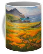 Point Lobos Poppies Coffee Mug
