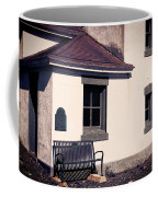 Point Wilson Lighthouse Bench Coffee Mug