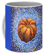 Pointillism Pumpkin Coffee Mug