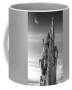 Pointing To The Heavens - Bw Coffee Mug