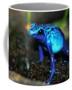 Poison Blue Dart Frog Coffee Mug