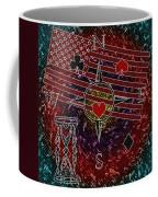 Poker Addiction Digital Painting Coffee Mug