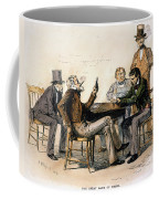 Poker Game, 1840s Coffee Mug