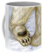 Polar Bear Paw Coffee Mug