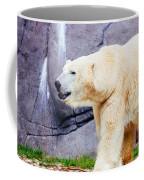 Polar Bear Walking Coffee Mug