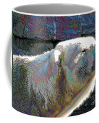 Polar Bear With Enameled Effect Coffee Mug