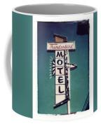 Polaroid Transfer Motel Coffee Mug