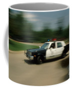 Police Car Coffee Mug