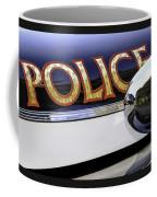 Police Car Coffee Mug
