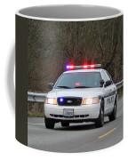 Police Escort Coffee Mug