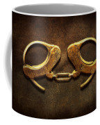 Police - Handcuffs Aren't Always A Bad Thing Coffee Mug by Mike Savad