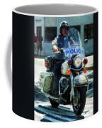 Police - Motorcycle Cop Coffee Mug