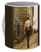 Police Poem Coffee Mug