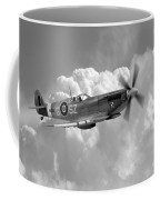 Polish Spitfire Ace Bw Coffee Mug