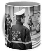 Polizia Roma Capitale Coffee Mug