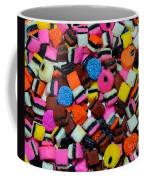 Polka Dot Colorful Candy Coffee Mug