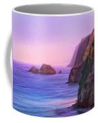 Pololu Valley Sunset Coffee Mug