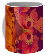 Polyanthus Spiral Coffee Mug by Nancy Pauling