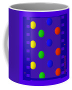 Polychrome Blue Coffee Mug