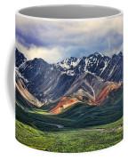 Polychrome Coffee Mug by Heather Applegate