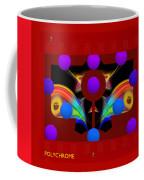 Polychrome Red Kimono Coffee Mug
