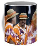 Polynesian Musicians Coffee Mug