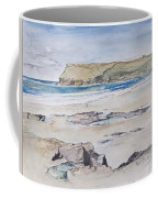 Polzeath And Pentire Head Coffee Mug