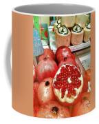 Pomegranates In Open Market Coffee Mug