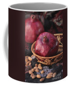 Pomegranates And Almonds Coffee Mug