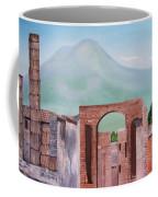 Pompeii And Vesuvius   Coffee Mug