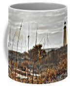 Ponce Inlet Lighthouse From The Dunes Coffee Mug